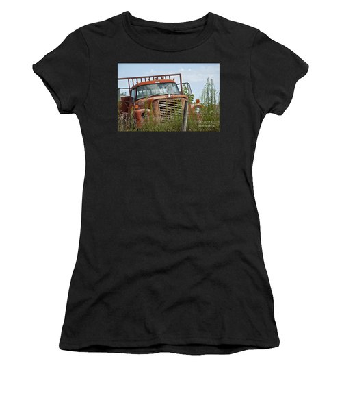Turned Out To Pasture Women's T-Shirt (Athletic Fit)