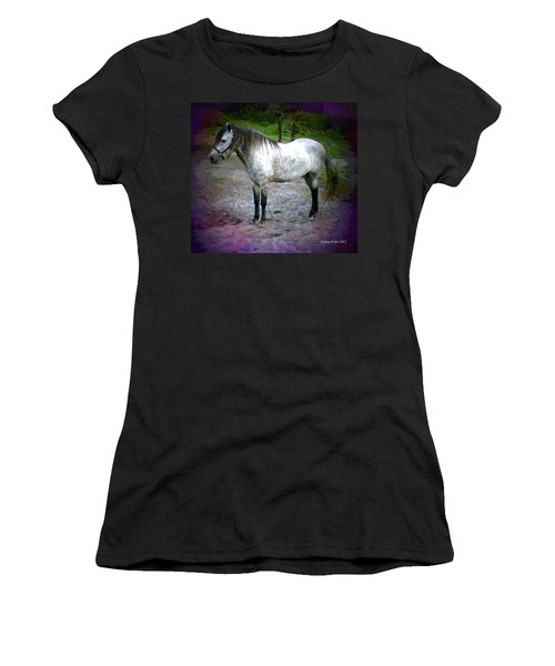 Women's T-Shirt (Junior Cut) featuring the photograph Vash The Stampede by George Pedro