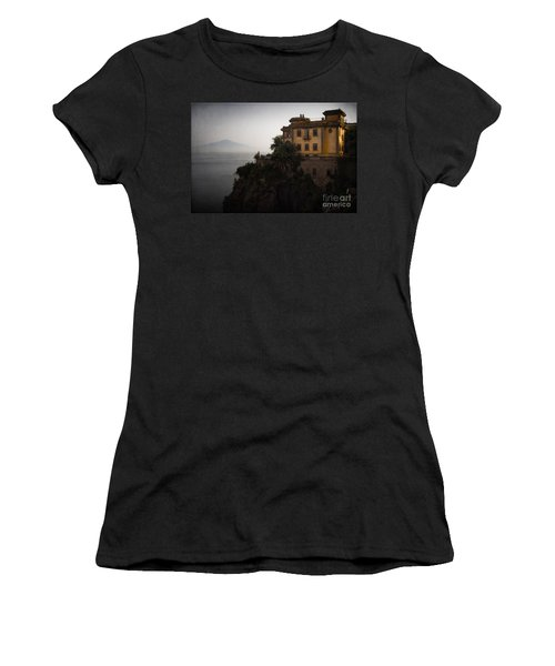 Vesuvius From Sorrento Women's T-Shirt (Athletic Fit)