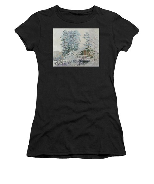 Visiting Fairy Tales Women's T-Shirt (Athletic Fit)