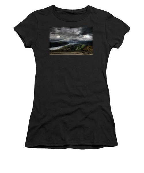 Vista House View Women's T-Shirt (Athletic Fit)