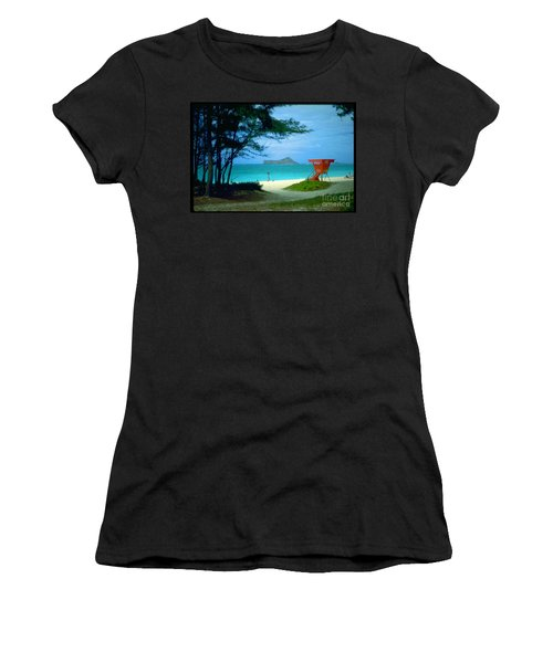 Waimanalo Women's T-Shirt (Athletic Fit)