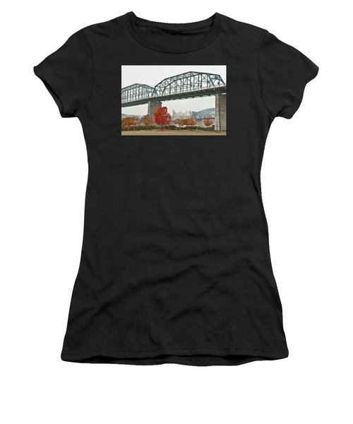 Walnut Street Bridge Women's T-Shirt