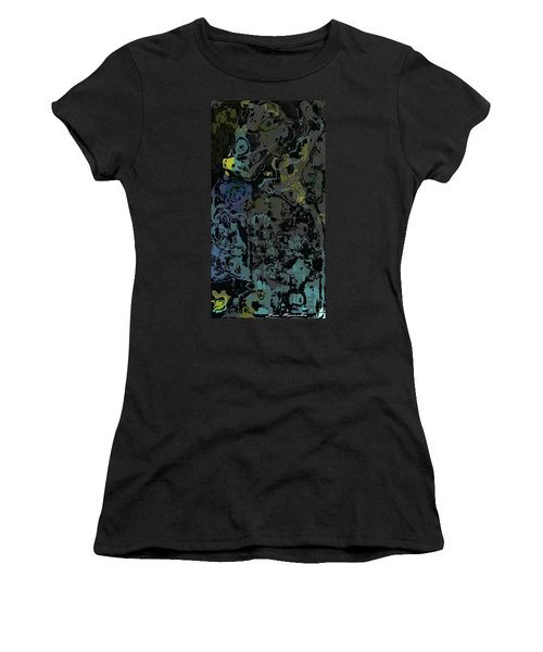 Water Puddles Women's T-Shirt (Athletic Fit)