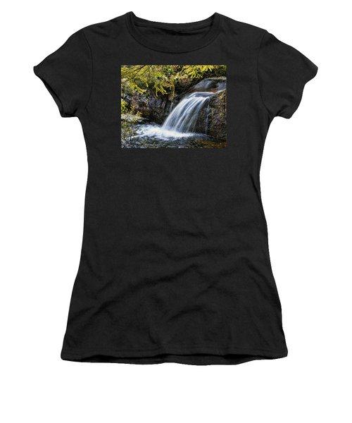 Women's T-Shirt (Junior Cut) featuring the photograph Waterfall by Hugh Smith