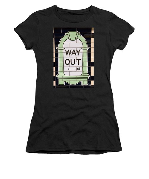 Way Out Women's T-Shirt (Athletic Fit)