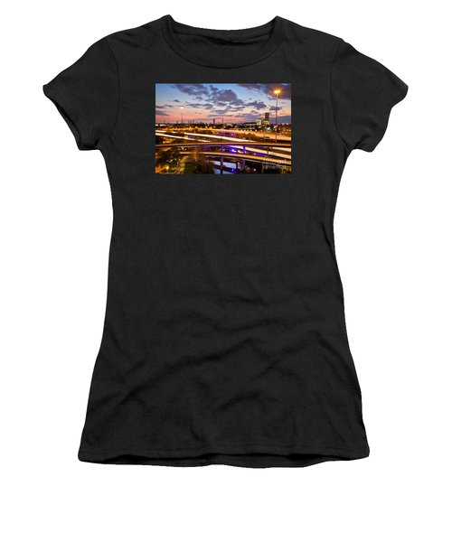 West Houston Around Dowtown Women's T-Shirt (Athletic Fit)