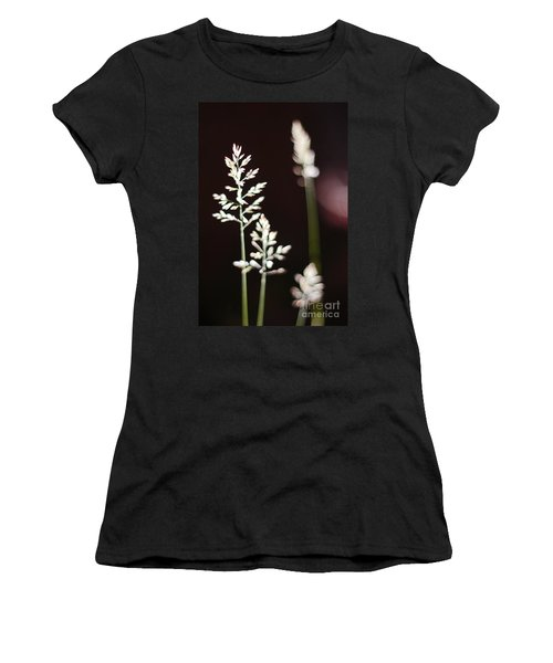 Wild Grass Women's T-Shirt (Junior Cut) by Andy Prendy