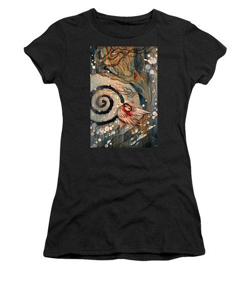 Winter Becoming Women's T-Shirt (Athletic Fit)