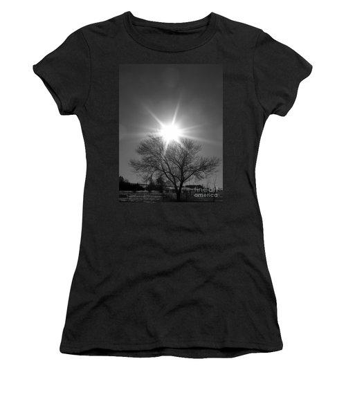 Winter Light Women's T-Shirt (Athletic Fit)