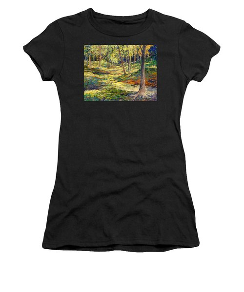 Woods In Ohio Women's T-Shirt (Athletic Fit)