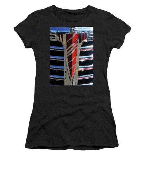 41 Chevrolet Emblem Women's T-Shirt (Athletic Fit)