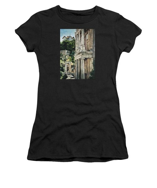 Ancient Amphitheater Women's T-Shirt