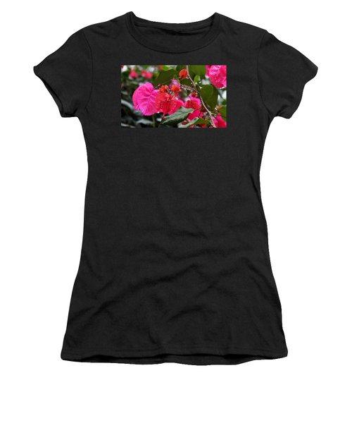 Bougainvillea In The Rain Women's T-Shirt
