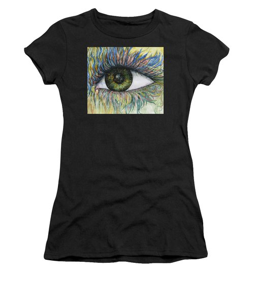 Eye For Details Women's T-Shirt (Athletic Fit)