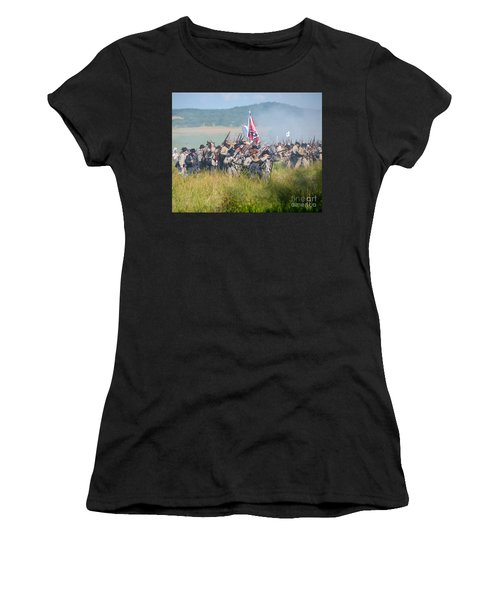 Gettysburg Confederate Infantry 9214c Women's T-Shirt