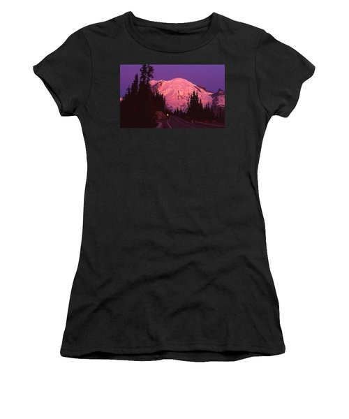 Highway To Sunrise Women's T-Shirt (Athletic Fit)