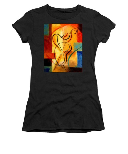 Jazz Fusion Women's T-Shirt (Athletic Fit)