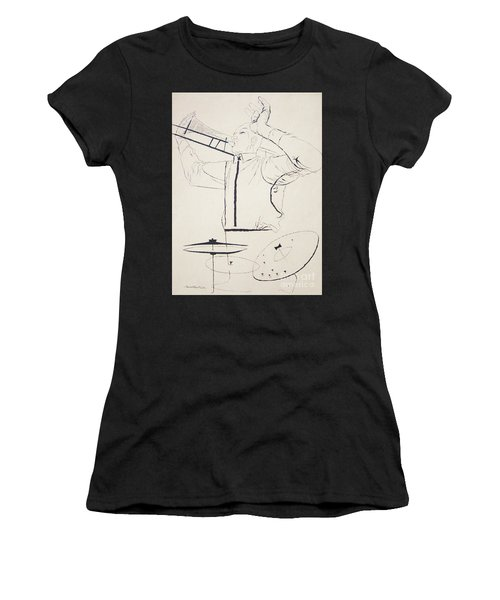 Jazz Image Women's T-Shirt (Athletic Fit)