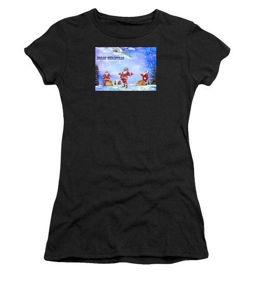 Merry Christmas To My Friends In The Faa Women's T-Shirt
