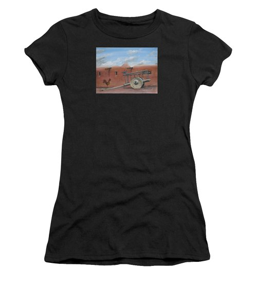Old Spanish Cart  Women's T-Shirt (Athletic Fit)