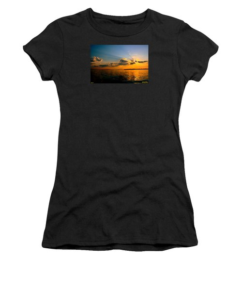 Perfect Ending To A Perfect Day Women's T-Shirt (Athletic Fit)