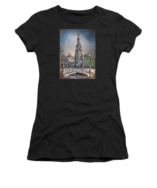 Plaza De Espana In Seville Women's T-Shirt