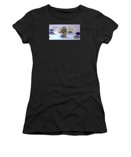Rhapsody In Blue Women's T-Shirt (Athletic Fit)