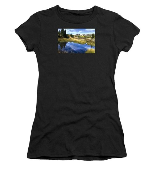 Road To Steamboat Lake Women's T-Shirt (Athletic Fit)