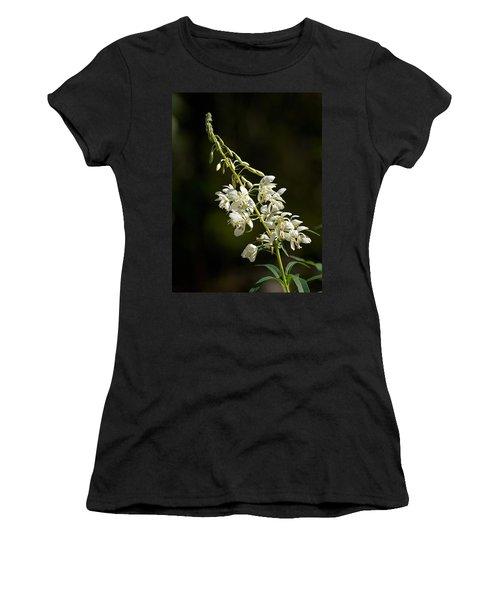 Women's T-Shirt (Junior Cut) featuring the photograph  White Fireweed by Jouko Lehto