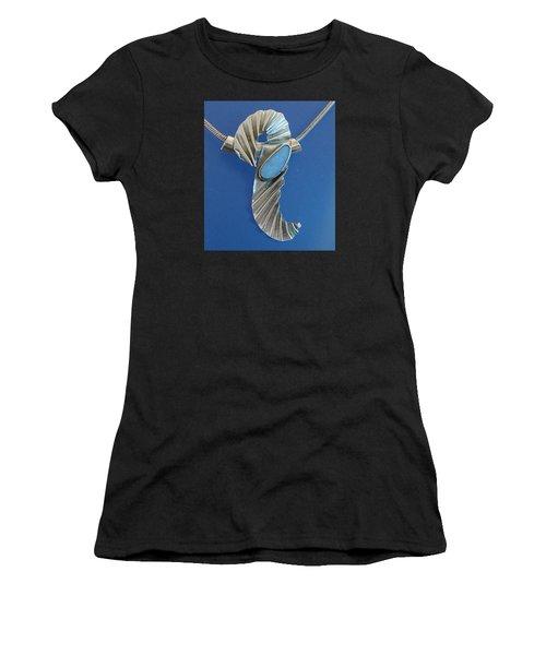 0468 Seahorse Women's T-Shirt (Athletic Fit)