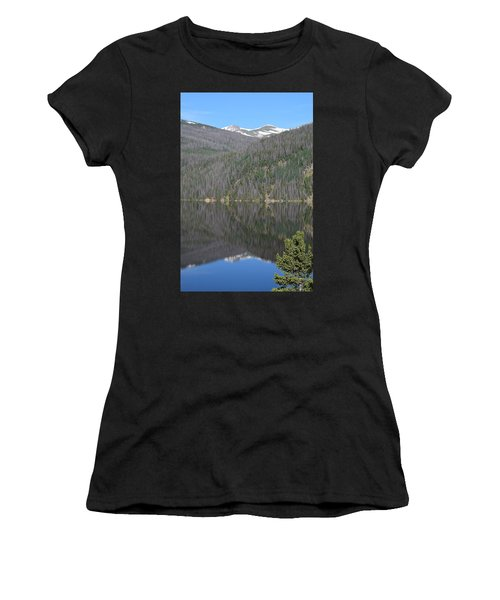 Chambers Lake Reflection Hwy 14 Co Women's T-Shirt