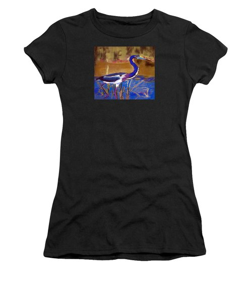 081315 Heron Women's T-Shirt (Athletic Fit)