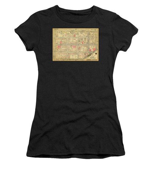 1927 Inwood Map  Women's T-Shirt
