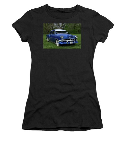 1954 Chevrolet Street Rod Women's T-Shirt (Athletic Fit)