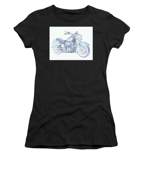 2015 Softail Women's T-Shirt (Athletic Fit)