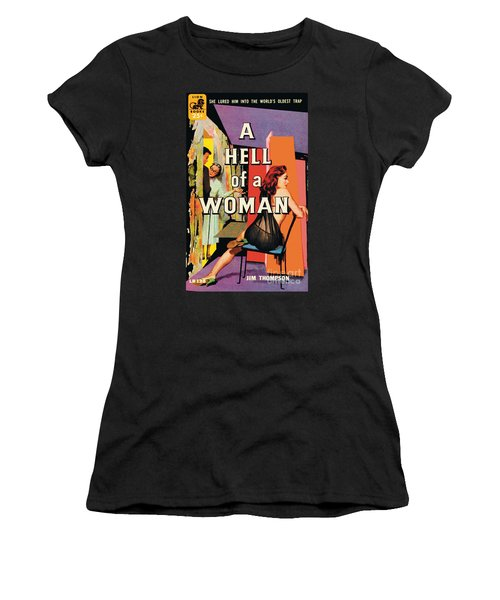 A Hell Of A Woman Women's T-Shirt (Athletic Fit)