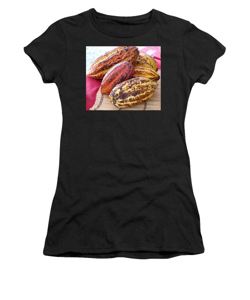 A Pile Of Cacao Pods Women's T-Shirt