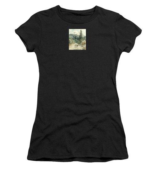 A View Of Popocatepetl Women's T-Shirt
