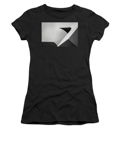 Abstract In Black And White Women's T-Shirt