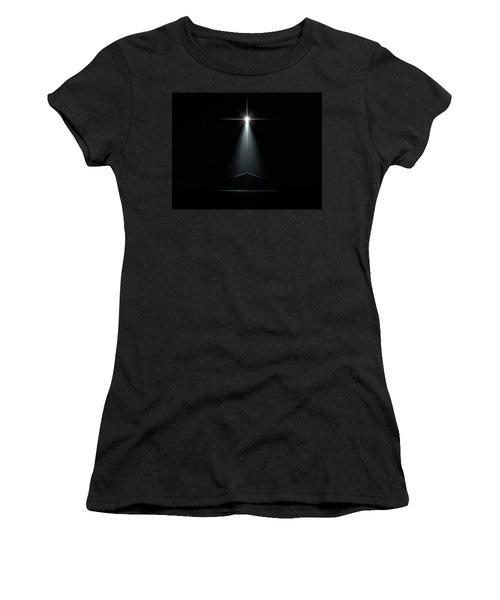 Abstract Nativity Scene Women's T-Shirt