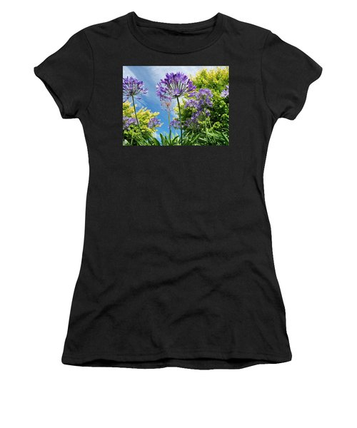Agapanthus Women's T-Shirt (Athletic Fit)