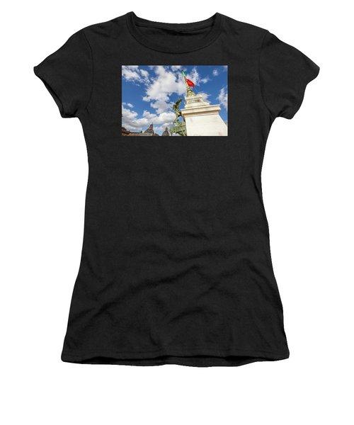 Altare Della Patria Roma Women's T-Shirt (Athletic Fit)