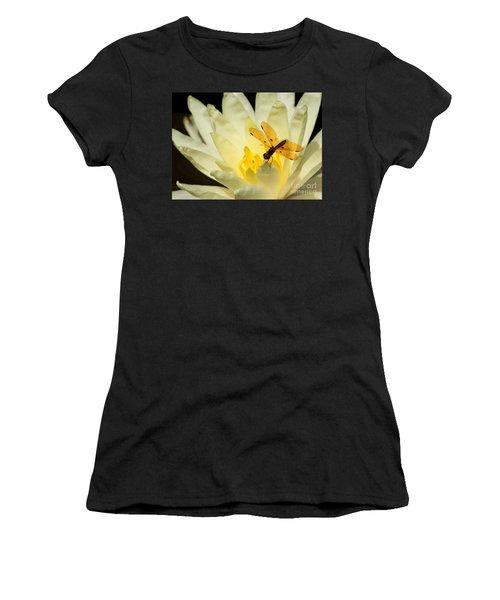 Amber Dragonfly Dancer 2 Women's T-Shirt