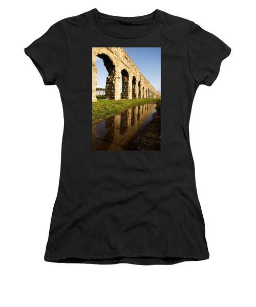 Aqua Claudia Aqueduct Women's T-Shirt