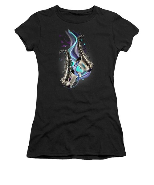 Aquarius Women's T-Shirt (Athletic Fit)