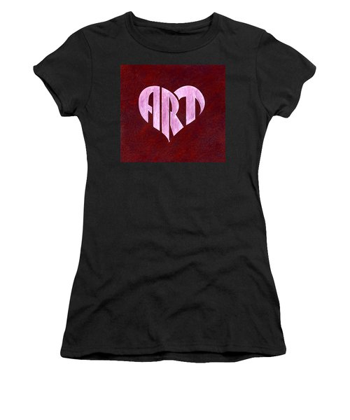 Art Heart Women's T-Shirt