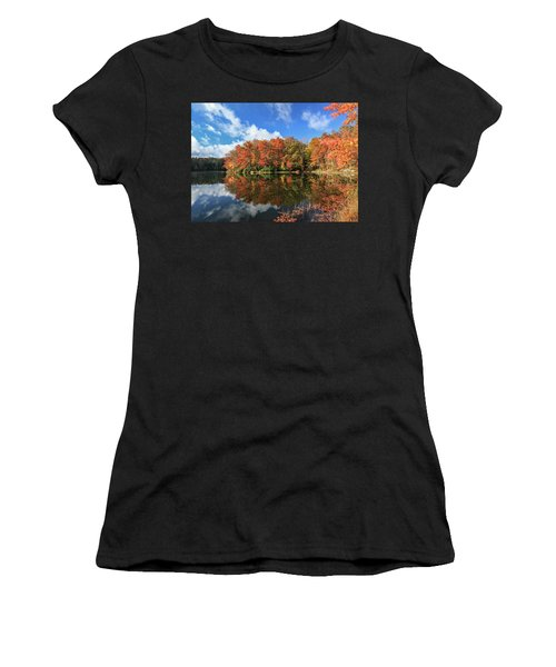 Autumn At Boley Lake Women's T-Shirt (Athletic Fit)