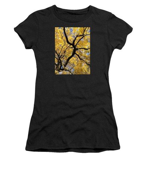 Autumn Gold Women's T-Shirt (Athletic Fit)