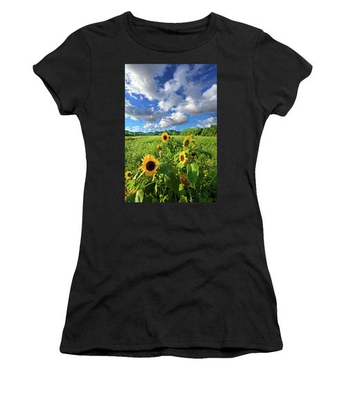 Autumn Is Near Women's T-Shirt (Athletic Fit)